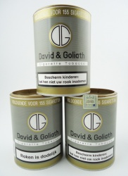 David & Goliath volume tabak 3 potten