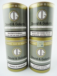 David & Goliath volume tabak 4 potten