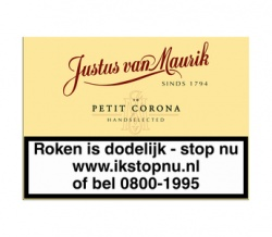 Justus van Maurik Petit Corona (10x)