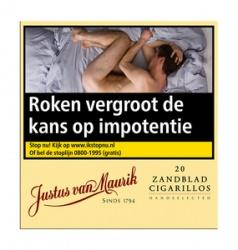 Justus van Maurik Zandblad Cigarillos (20x)