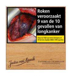Justus van Maurik Zandblad Cigarillos (50x)