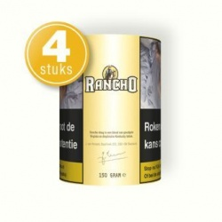 Rancho shag geel 150 gram (4 pakken)