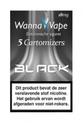 Wanna Vape Black 18 mg.