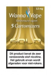 Wanna Vape Gold 12 mg.