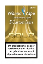 Wanna Vape Gold 18 mg.