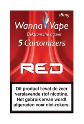 Wanna Vape Red 18 mg.