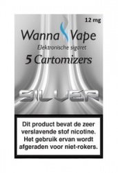 Wanna Vape Silver 12 mg.