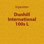 Dunhill International 100s