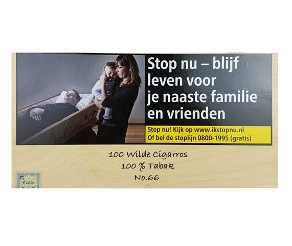 No. 66 Wilde Cigarros (100X)
