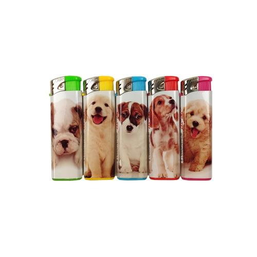 Elektrische aansteker honden (5x)