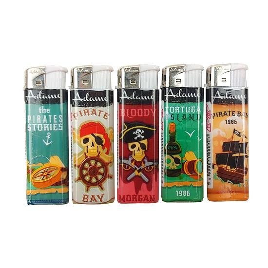 Adamo piraten aanstekers (5 stuks)