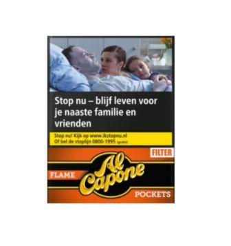 Al Capone Sweet Cognac sigaar/Pocket Flame