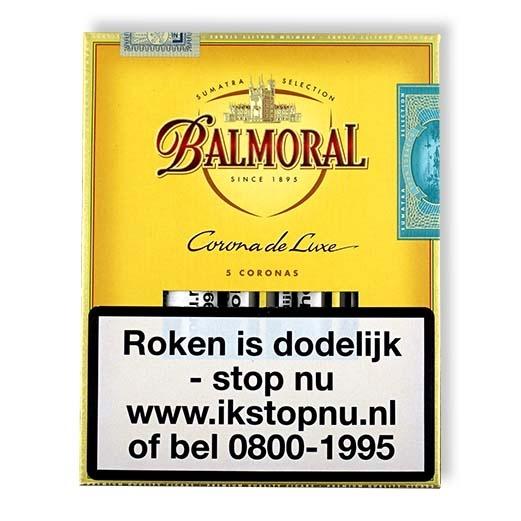 Balmoral Corona de Luxe sigaren