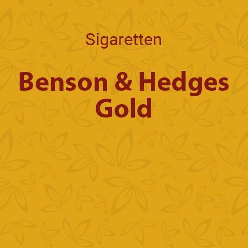 Benson en Hedges Gold (10 pakken / 20 sigaretten)