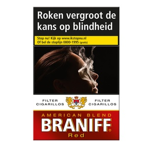 Braniff Red  (10 pakken/ 20 filter cigarillos)
