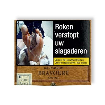 Bravoure cigarillos sigaren (100x)