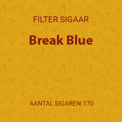 Break Blue (10 pakken / 17 filter cigarillos)