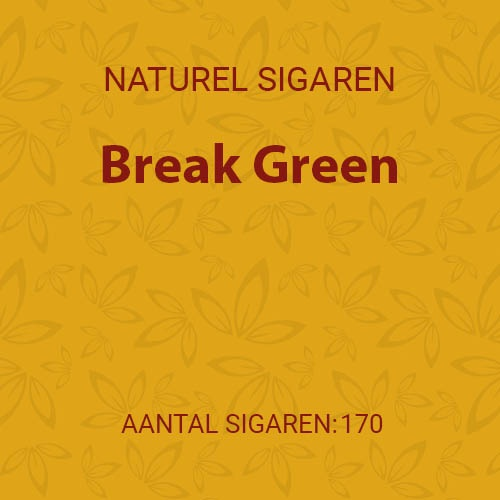 Break Green (10 pakken / 17 filter cigarillos)