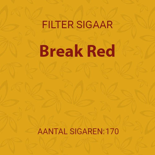 Break Red (10 pakken / 17 filter cigarillos)