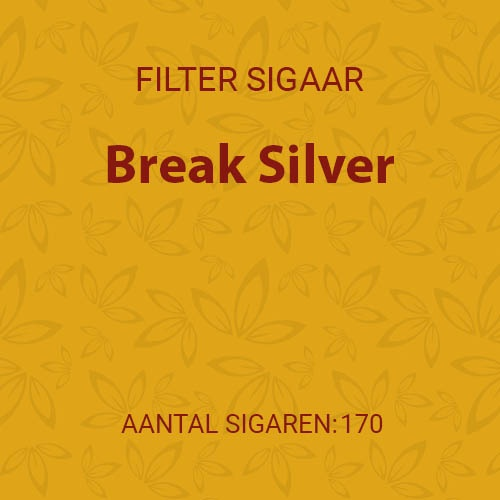 Break Silver (10 pakken / 17 filter cigarillos)
