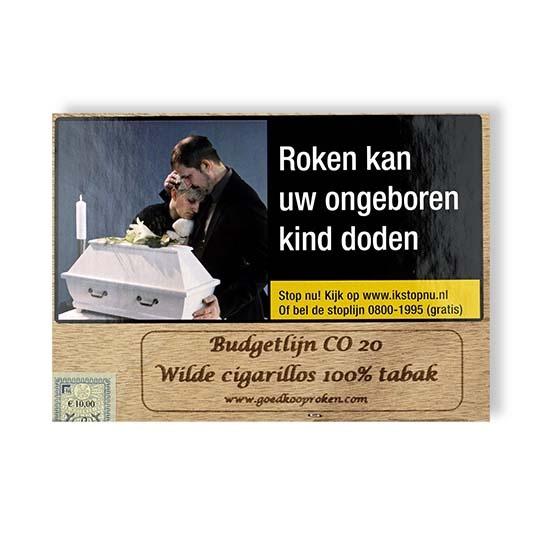 Budgetlijn 20 wilde cigarillos