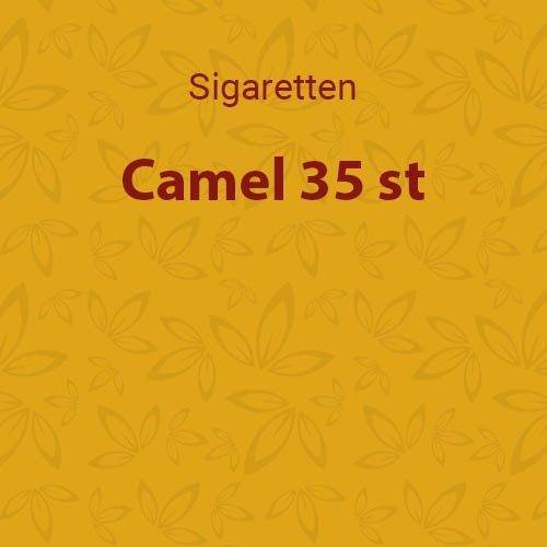Camel Geel 35 st.
