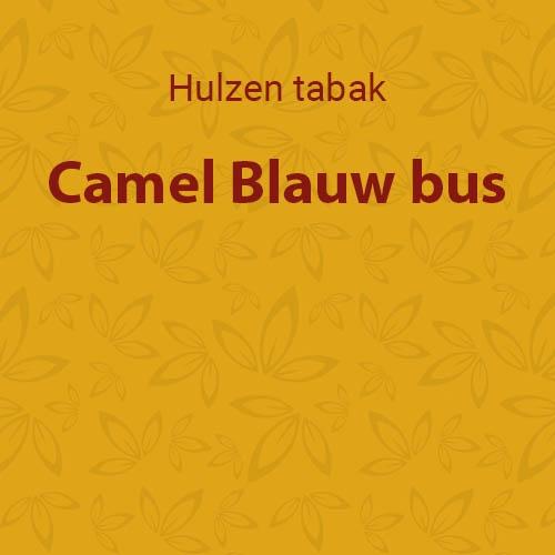 Camel Blauw bus