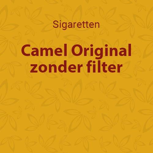 Camel original zonder filter