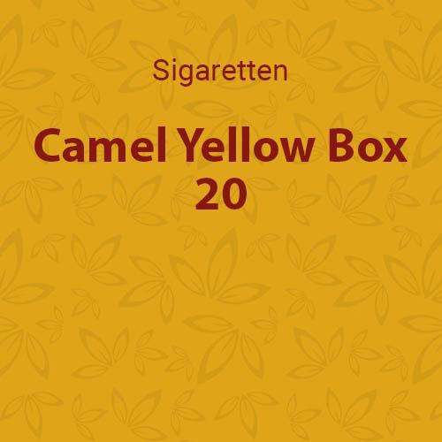 Camel Geel Box 20 stuks (10 pakken / 20 sigaretten)
