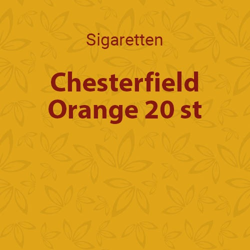 Chesterfield Orange 20 st.