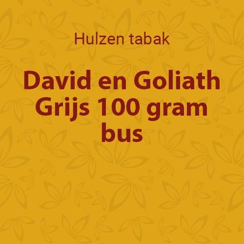 David & Goliath volume tabak (1 pot)