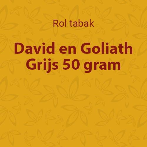 D&G shag Grijs (Grey) 50 gram (10 pakken)