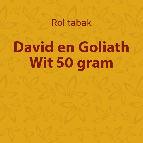 D&G shag Wit (White) 50 gram (10 pakken)
