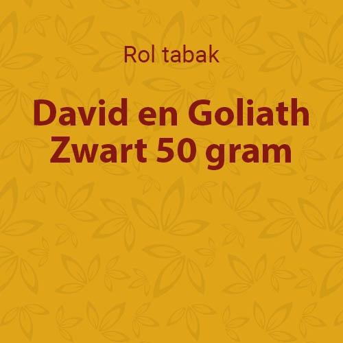 D&G shag Zwart (Black) 50 gram (10 pakken)