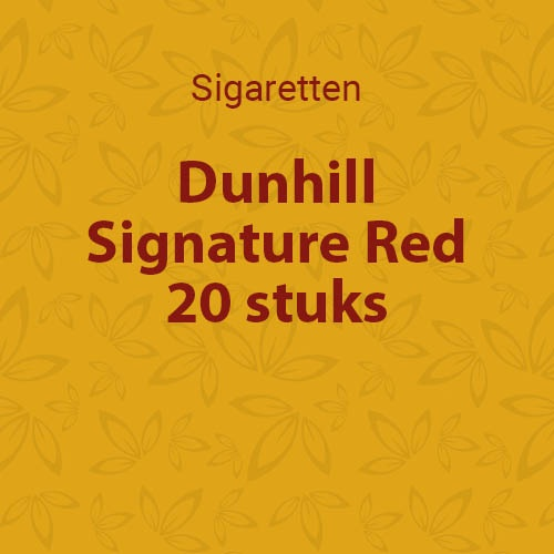 Dunhill Signature Red L