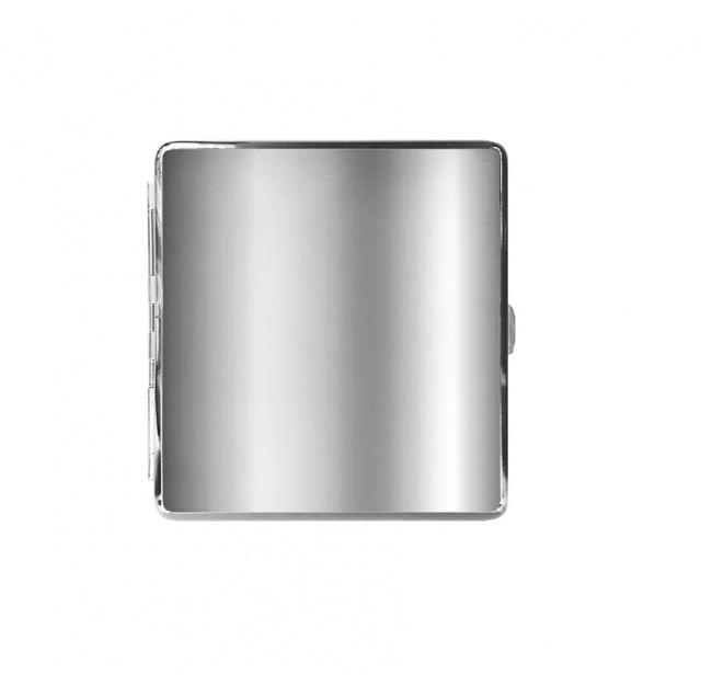 Aanbieding | Metalen sigaretten doosje effen