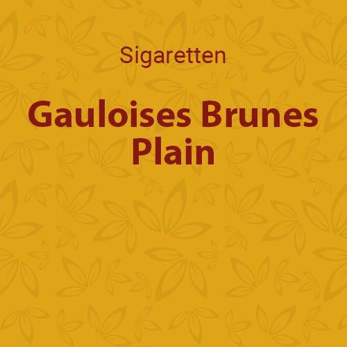 Gauloises brunes plain