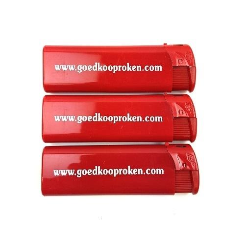 Elektronische aanstekers Goedkooproken (6 stuks)