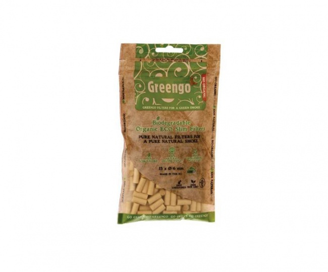 Greengo Unbleached filter tips
