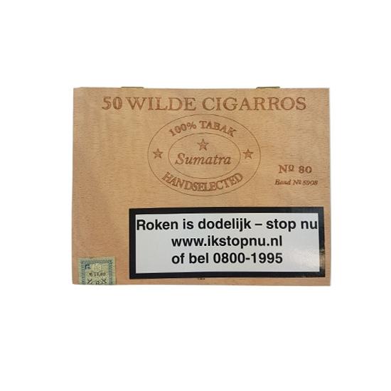 No. 80 Sumatra Wilde Cigarros (50x)