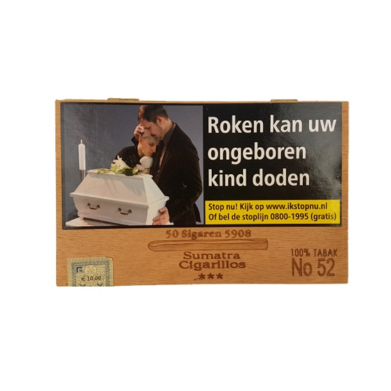 No. 52 Sumatra Cigarillos (50x)