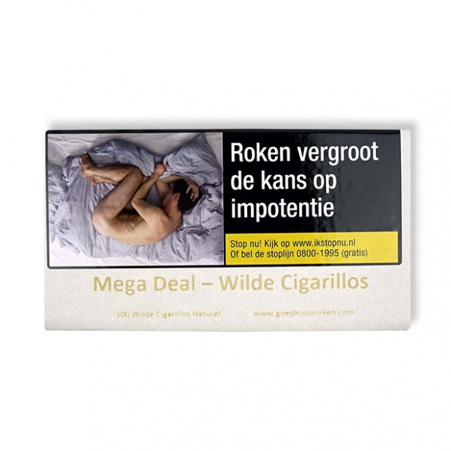 Mega Deal Wilde Cigarillos sigaren (100x)