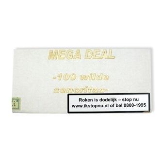 Mega Deal Wilde Senoritas sigaren (100x)