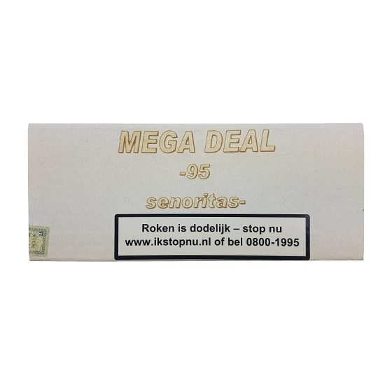 Mega Deal Senoritas sigaren (95x)
