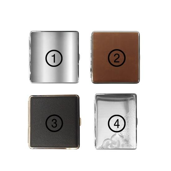 Metalen Sigarettendoosje (4 soorten)