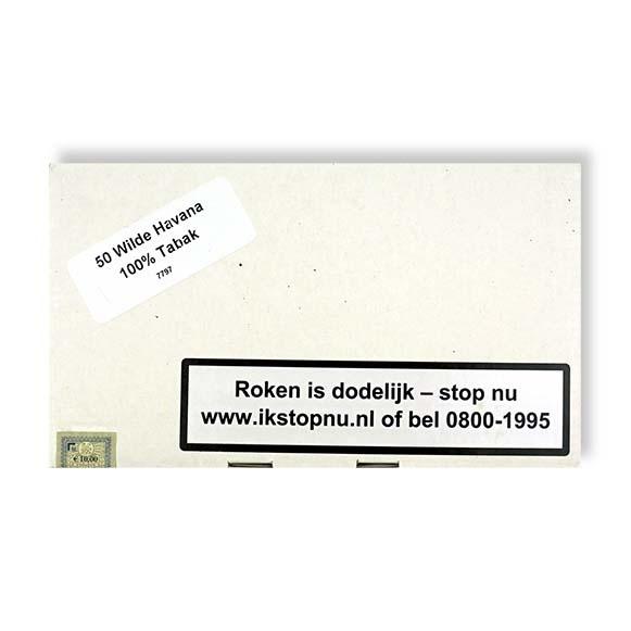 Op=Op Wilde Havana sigaren (50x)