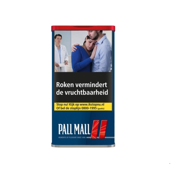 Pall Mall Red tabak 58 gram (6 bussen)