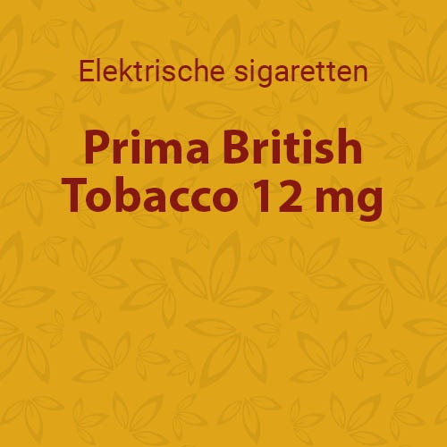 Prima British Tobacco 12 mg