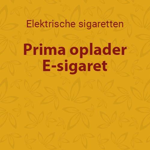 Prima oplader E-sigaret