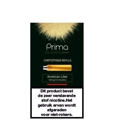Prima American Lites 18 mg